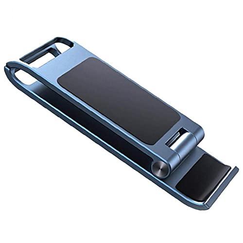 Odoukey iPhone Soporte Plegable móvil pequeño Soporte para teléfono portátil y teléfono Azul del Soporte Plegable de Soporte del teléfono móvil