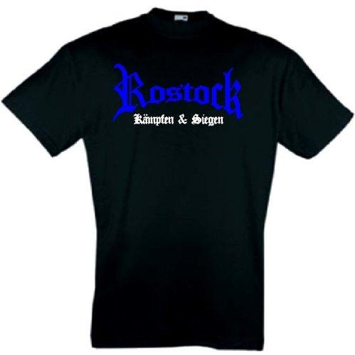 Rostock Herren T-Shirt kämpfen und Siegen Ultras