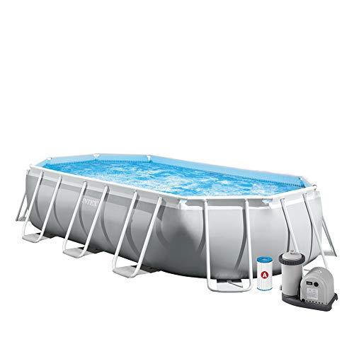 INTEX Kit piscine Prism Frame ovale