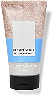 Bath And Body Works Clean Slate 2 In 1 Body Wash and Scrub Men's Collection 200ml