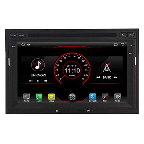 BWHTY Android 10 Car Stereo Radio Audio Navegación GPS de 7 Pulgadas para Peugeot 3008/5008 para Citroen Berlingo Partner 2009 2010 2011 Soporte para cámara de visión Trasera/SWC/Mirror Link/WiFi