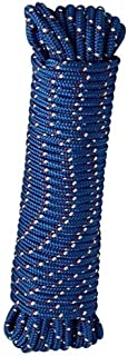 Crawford-Lehigh MFP8100 Lehigh Diamond Braided Rope, 3/8 In Dia X 100 Ft L, 244 Lb, 100', Colors may vary