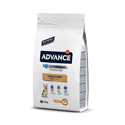 ADVANCE Yorkshire Terrier Hundefutter, 1,5kg, 1er Pack (1 x 1.5 kg)