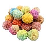 CZSMART Wasserbomben Bälle Set, 30 Pieces Reusable Cotton Splash Balls, Wasserbombe Splash Balls...