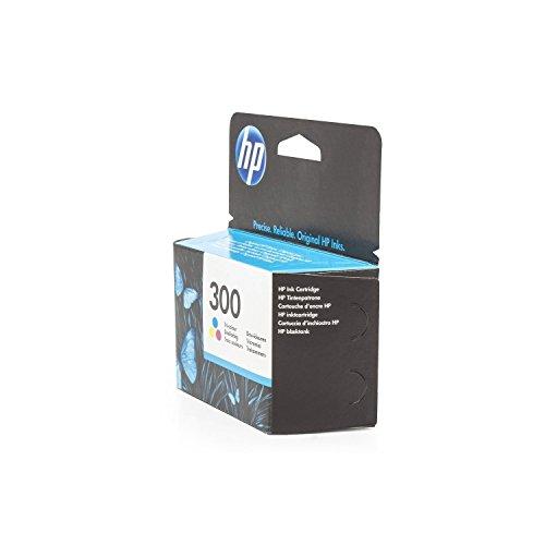 Original HP CC643EE / 300, für DeskJet D 2600 Series Premium Drucker-Patrone, Cyan, Magenta, Gelb, 165 Seiten, 4 ml