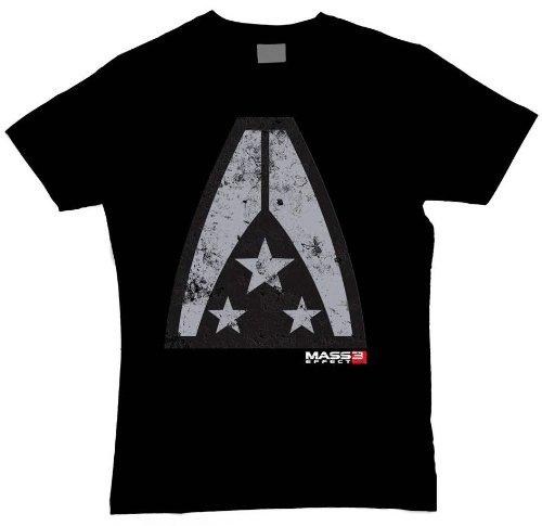 Mass Effect 3 T-Shirt Alliance Badge Größe XXL