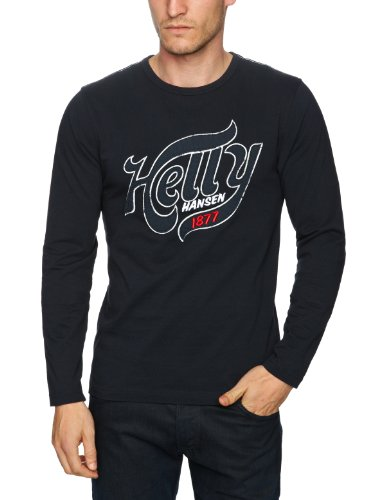 Helly Hansen Graphic LS Tee-shirt manche longue homme Navy XXL