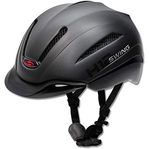 Waldhausen Swing H12 pro Ride & Bike Reithelm Größe: 53-59 Farbe: Black mat