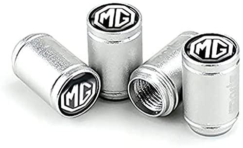 4 Tapas De VáLvulas De Polvo De Ruedas De Coche, Accesorios De DecoracióN De NeumáTicos, Para MG3 MG5 MG6 MG7 TF ZR MG ZS GS GT