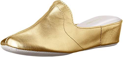Daniel Green Women's Glamour Slipper Gold