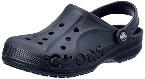 crocs Baya Blk M11,Unisex-Erwachsene Clogs,Schwarz,EU45/46(UK10)