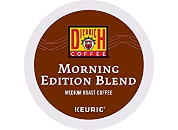 Diedrich Morning Edition Blend Single-Serve Keurig K-Cup Pods Medium Roast Coffee 144 Count  6 Boxes of 24 Pods