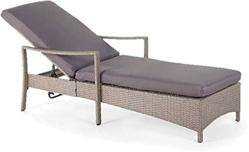 Sol 72 Outdoor Crafted Rattan Mina Sata Sun Lounger with Cushion
