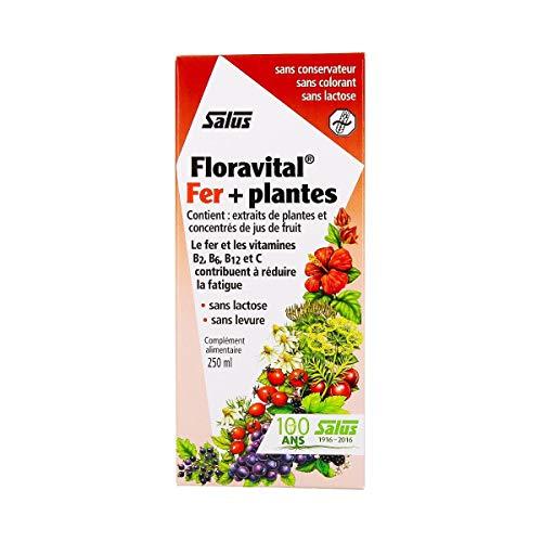 Salus - Floravital Fer+Plantes 250Ml - Lot De 2 - Vendu Par Lot - Livraison Gratuite En France