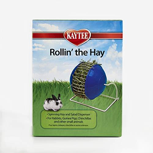 Super Pet Rollin Mangeoire roue à foin pour cochon d'Inde et lapin