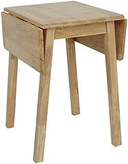 Antik lumière Compact en bois petite Table, pour la cuisine ou la salle à manger