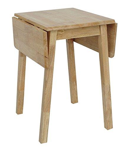 Luce naturale legno compatta piccola goccia foglia da tavolo per cucina o sala da pranzo