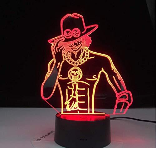 3D lamp Weihnachtsrutsche WOW Model Lion 3D Illusion NightLight LED Bunter Blitz Touch Touch Schreibtischlampe Figur Spielzeug Drop 2876
