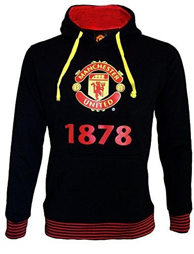 Manchester United Herren Kapuzensweatshirt, offizielle Kollektion, Erwachsenengröße - XXL