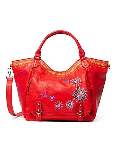 Desigual ROTTERDAM - Borsa a tracolla da donna, colore: Rosso