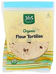 365 Everyday Value, Organic Flour Tortillas, 6 ct