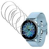 UniqueMe [5Pack] Protector de Pantalla para Samsung Galaxy Watch Active 2 44mm, película...