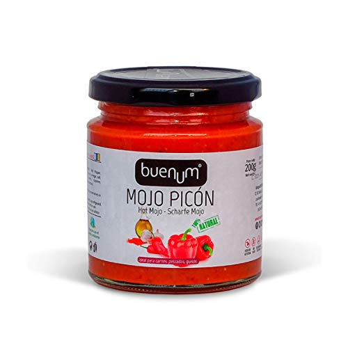 Rotes Mojo-Sauce würzig BUENUM 200 gr.