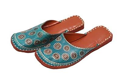 Apratim WomenGirl Kolhapuri Slippers/Flat Chappals Rama Color