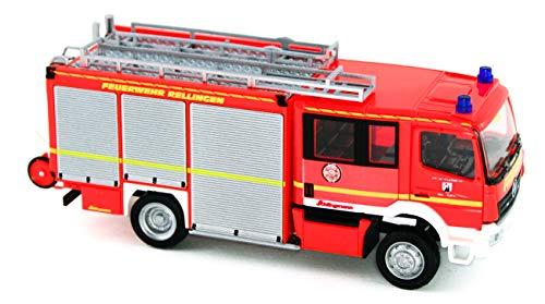 Rietze 72902 Mercedes Atego Schlingmann Varus HLF, Feuerwehr Rellingen 1:87
