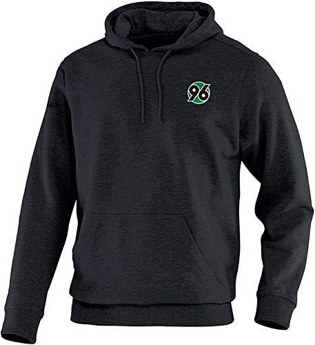 Hannover 96 Kapuzenpullover 4 XL Herren Sweater XXXXL schwarz Gr. 62 H96 - Plus Lesezeichen I Love Hannover