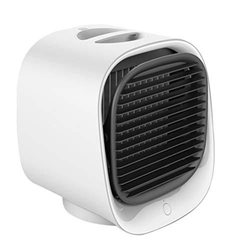 FOMIYES 1pc exquisito mini ventilador de refrigeración USB conveniente ventilador de escritorio multifunción ventilador decoración ventilador ventilador