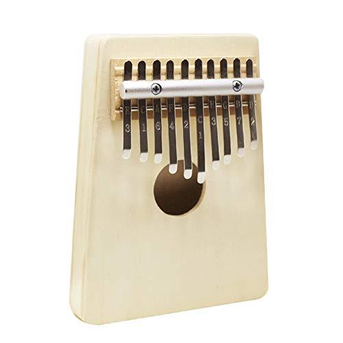JHKJ Tragbares Finger-Daumen-Klavier, Eingebaute Hochleistungs-Schutzbox, Daumen-Klavier und Stimmhammer für Kinder und Klavieranfänger