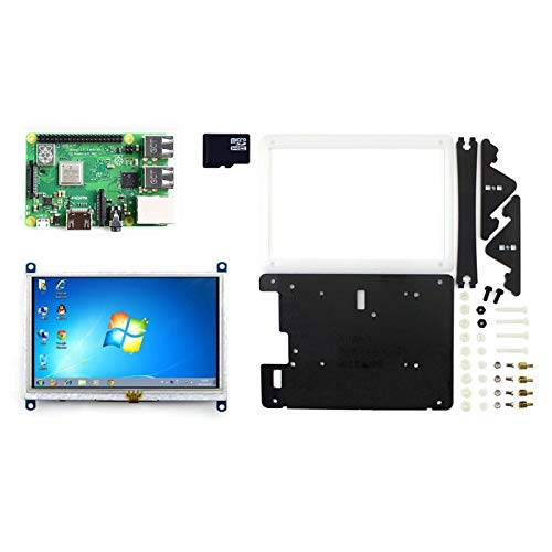 YKDY - Kit di Sviluppo per Raspberry Pi 3, Modello B+ (Tipo E)