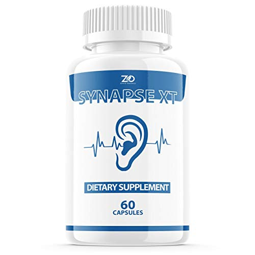 Synapse XT for Tinnitus Supplement Pills, Premium Synapse XT Relief Supp Capsules for The Original Brand Only (60 Capsules)