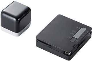 ELECOM 充電式リチウムイオン電池 Pocket WiFi用 miniB AC充電器付 ブラック DE-RKJ4ACBK