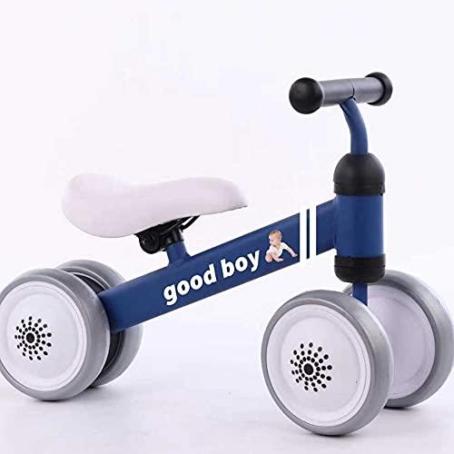 MYJOYSUE Bicicleta de Equilibrio para niños sin Pedales 1-3 años bebé niño pequeño bebé Deslizante bebé Paso resbaladizo niño pequeño Bicicleta giratoria