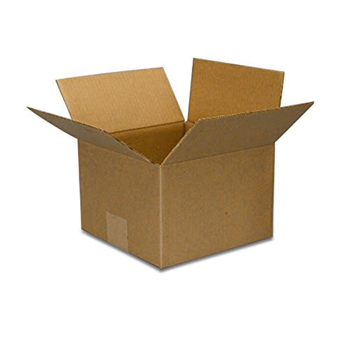 Moving Cardboard Boxes 10 X 10 X 6 - RSC Boxes - 25 each by Paper Mart by Paper Mart