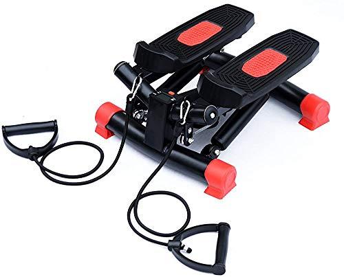 Stepper, Stepper Haus mit einem Wireless-Trainingscomputer - für Anfänger und Fortgeschrittene auf und ab Stepper Heimfitnessgeräte, Ausdauertraining,Red