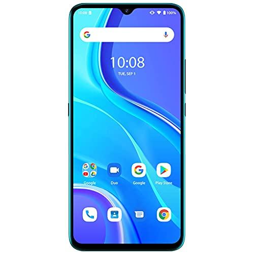 UMIDIGI A7S スマートフォン本体 Android 10.0 スマホ本体 6.53 FHD+フルスクリーン SIMフリー スマホ 本体13MP+8MP+2MP 3眼カメラ 4150mAh 32GB ROM グローバルバージョン 顔認証 技適認証済 (ピーコックグリーン)