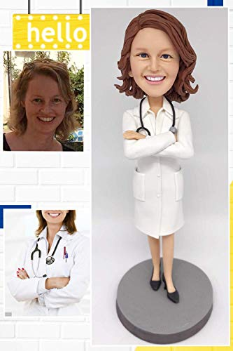 Custom Doctor Bobblehead Figurine Personalized Occupational Gifts...