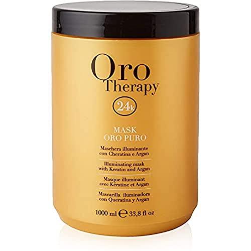Fanola Oro Therapy Illuminante Mask Oro Puro Maschera Capelli - 1000 Ml