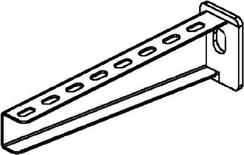 Niedax NIED Wandausleger KTA 400, Stahl, 410 x 26 mm