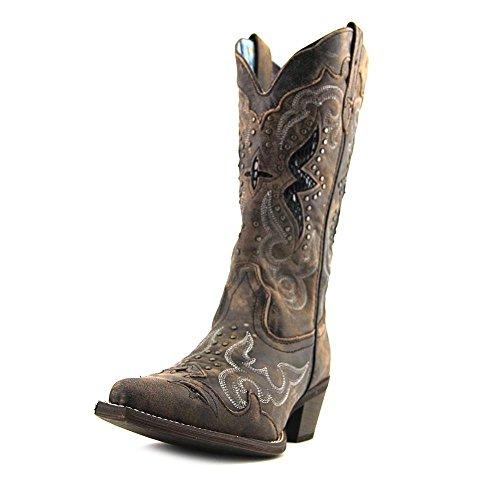 Laredo Women's Lucretia Western Boot,Black/Tan,8 M US