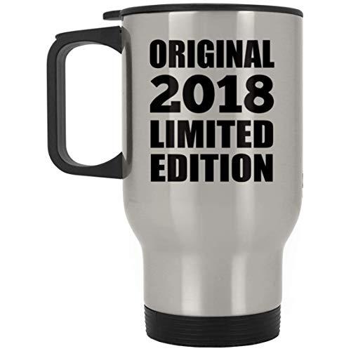 2nd Birthday Original 2018 Limited Edition - Travel Mug Taza de Viaje, Acero Inoxidable - Regalo para Cumpleaños, Aniversario, Día de Navidad o Día de Acción de Gracias