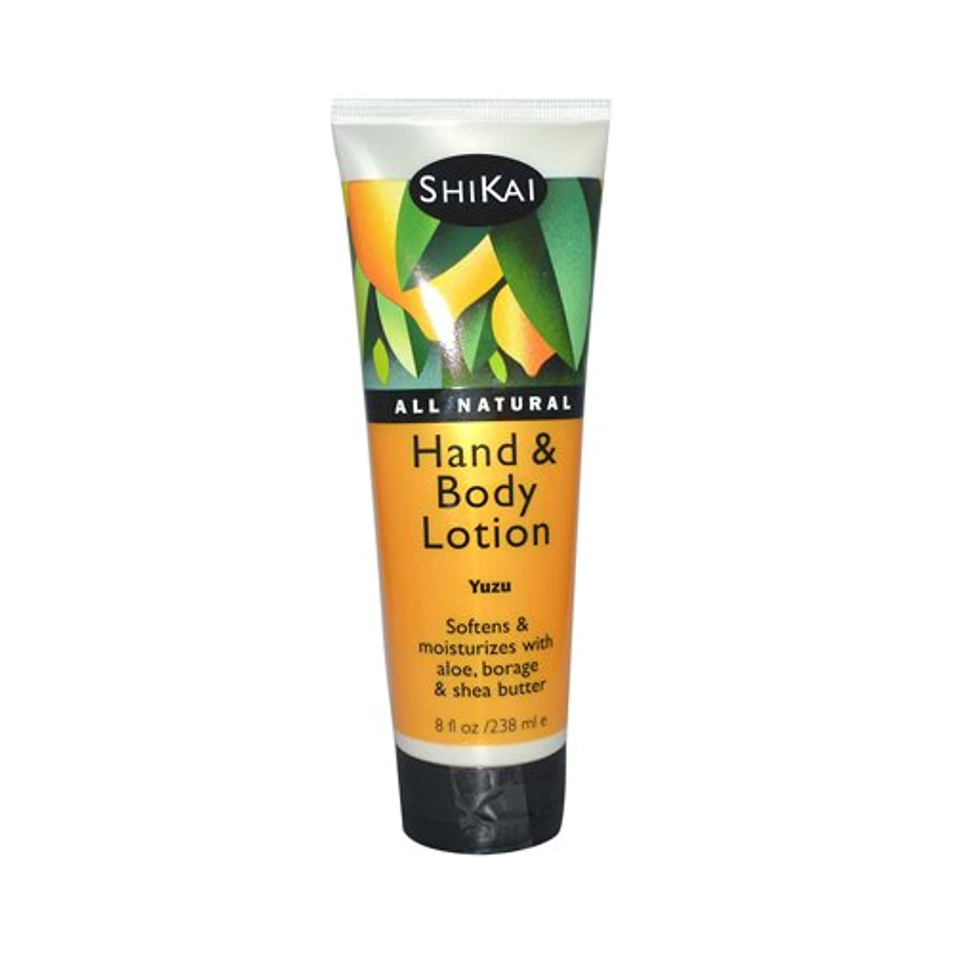 作動する良性これまでShikai All Natural Hand And Body Lotion Yuzu - 8 fl oz by Shikai Products