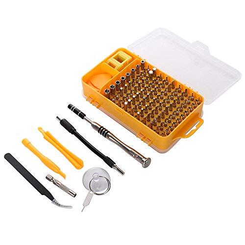 El Conjunto de Destornillador de Alta precisión de 108 IN-1 se USA para Desmontar el Reloj, la Tableta, el teléfono móvil, el Kit de Herramientas de reparación electrónica Hudson Studio