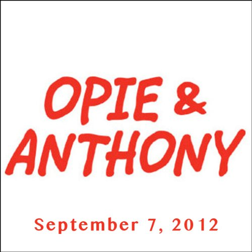 Opie & Anthony, Guy Fieri and The Inbetweeners, September 7, 2012 audiobook cover art