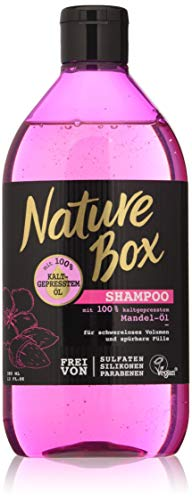 Nature Box shampoo amandelolie, 385 ml