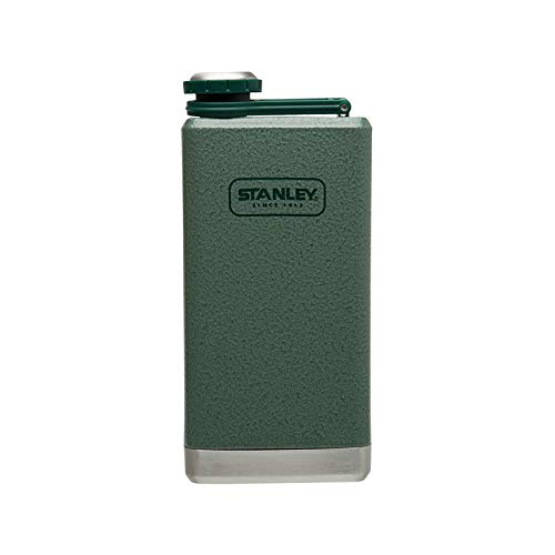 Stanley Adventure Stainless Steel Flask 8oz Hammertone Green