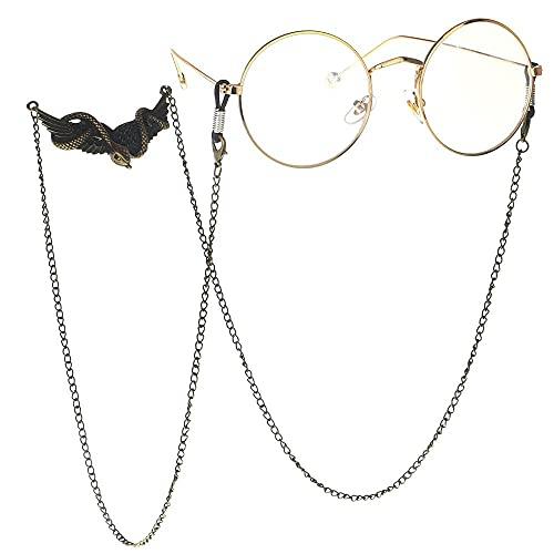 YANJ Gafas Cadena Gafas de Sol Cadena Gafas Cordón Gafas Correa Punk Bronce Alas de Serpiente Gafas Hechas a Mano Cadena Gafas de Sol Accesorios Gafas Antideslizantes Cuerda